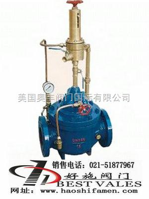 产品介绍: 当给水管中压力超过泄压阀额定压力时,500x泄压阀图片