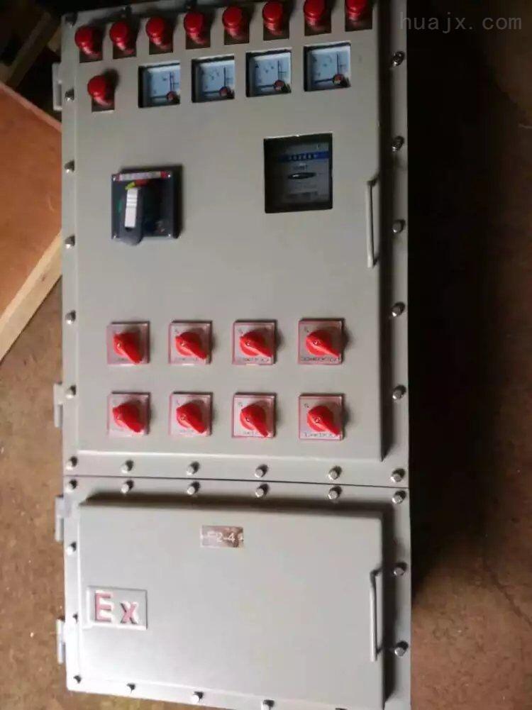 洛平防爆配电箱带漏电保护专业定做